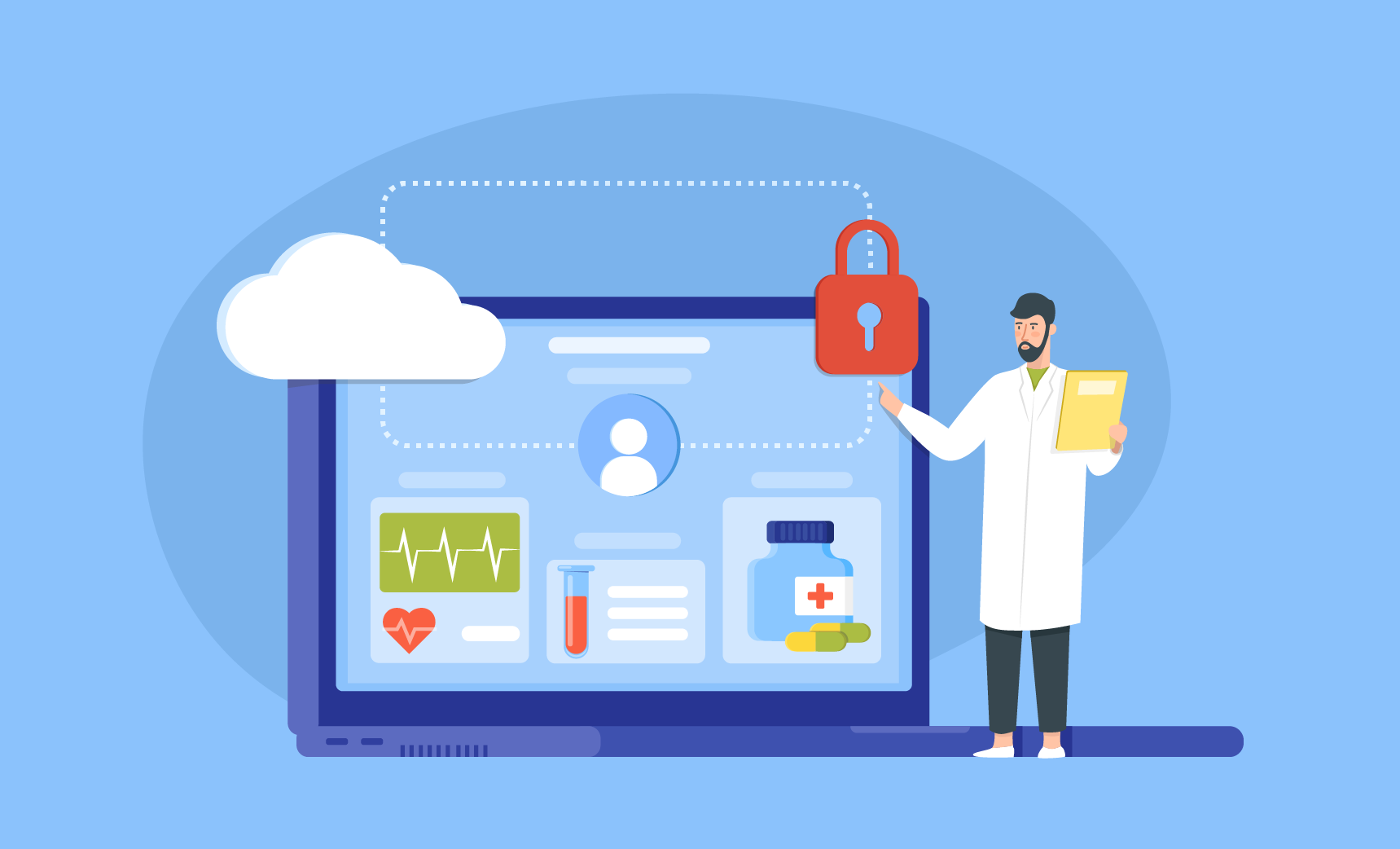 Streamlining healthcare data management and collection