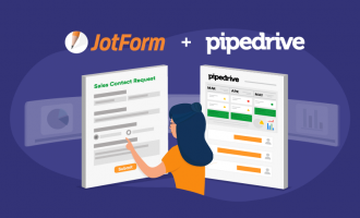 Announcing a Pipedrive + JotForm integration