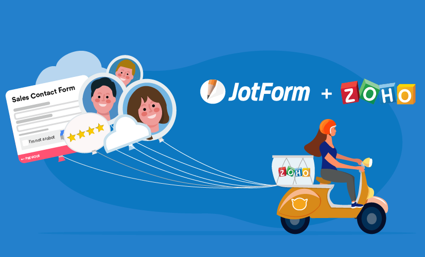 Announcing improvements to JotForm's Zoho integration