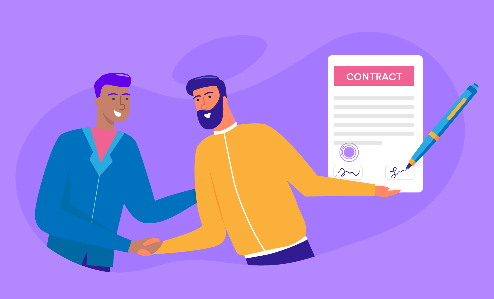The difference between an agreement and a contract