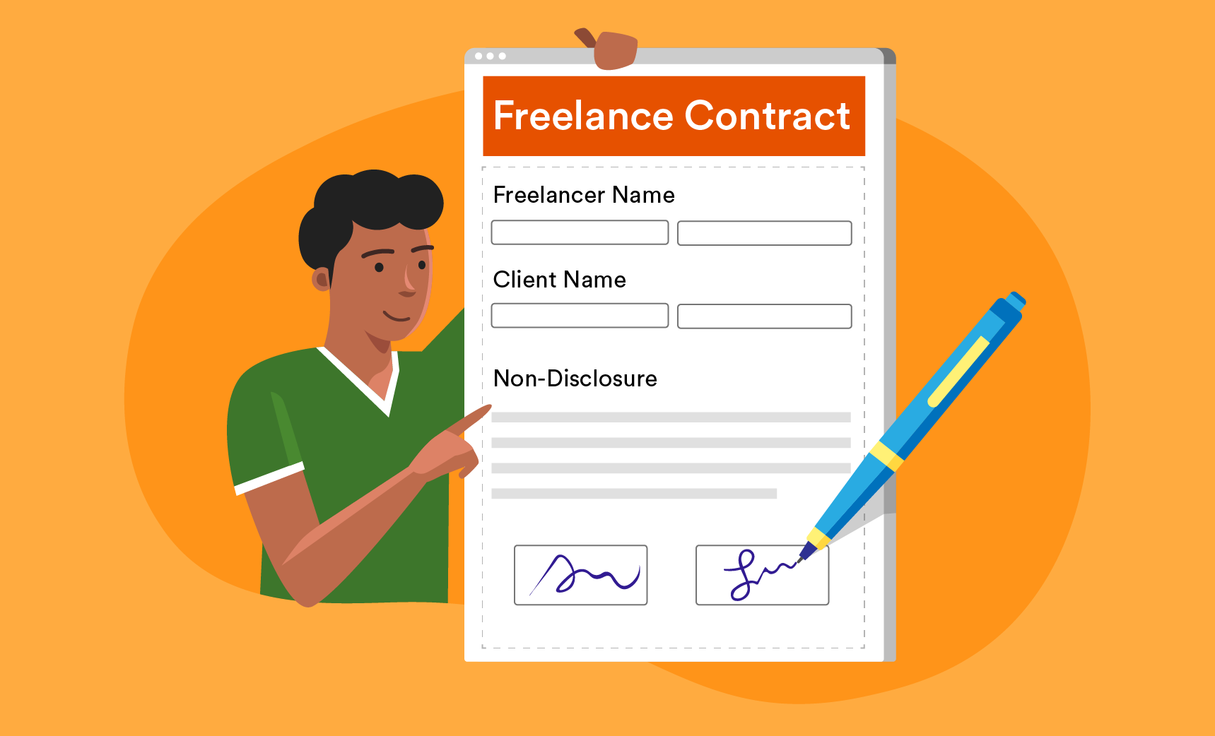 What is a clause in a contract?