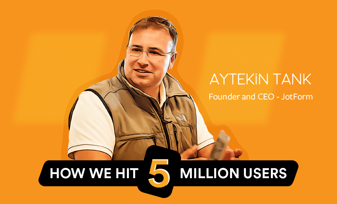 How we reached 5 million users without funding or frantic hustling