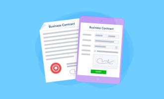 online contracts vs paper contracts