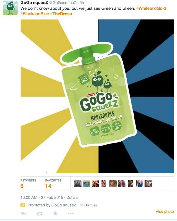 gogo squeez tweet