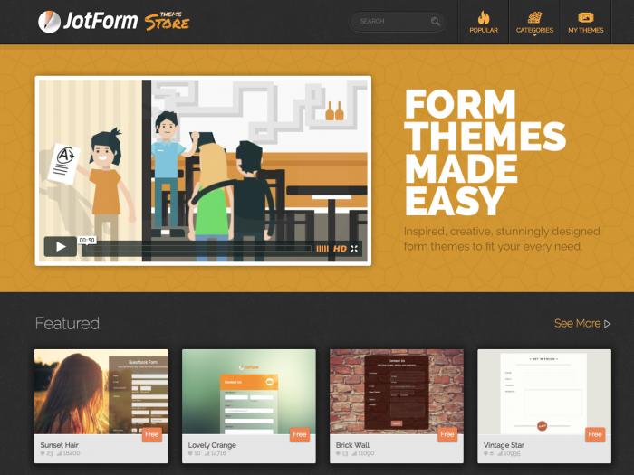 Theme Store Design