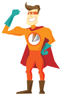 widget team mascot