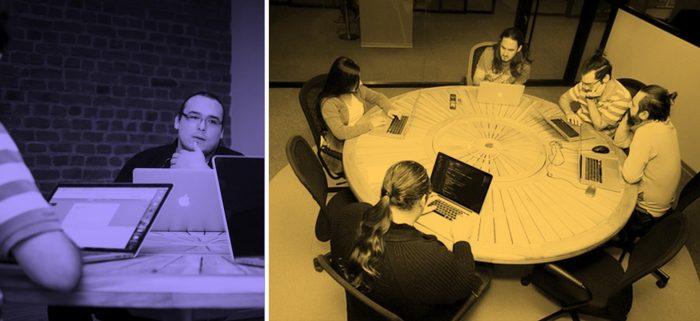 a design meeting