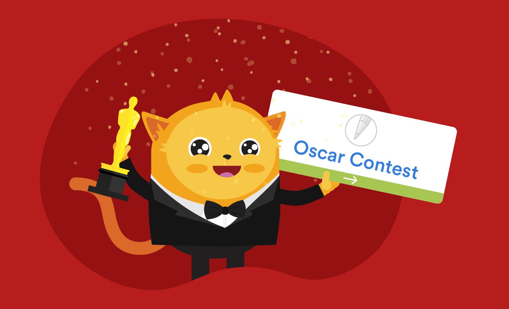 award-winning Oscars ballot