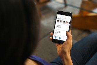paypal app screen
