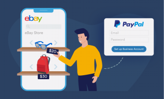 Do I need a PayPal business account to sell on eBay?