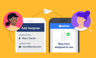Assign forms in JotForm to improve collaboration