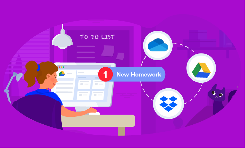 Homework in digital classrooms