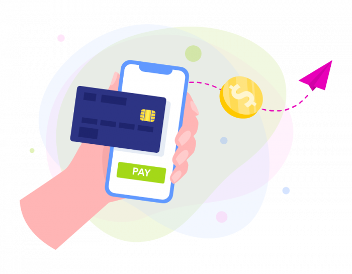 Credit card payment via online gateaway