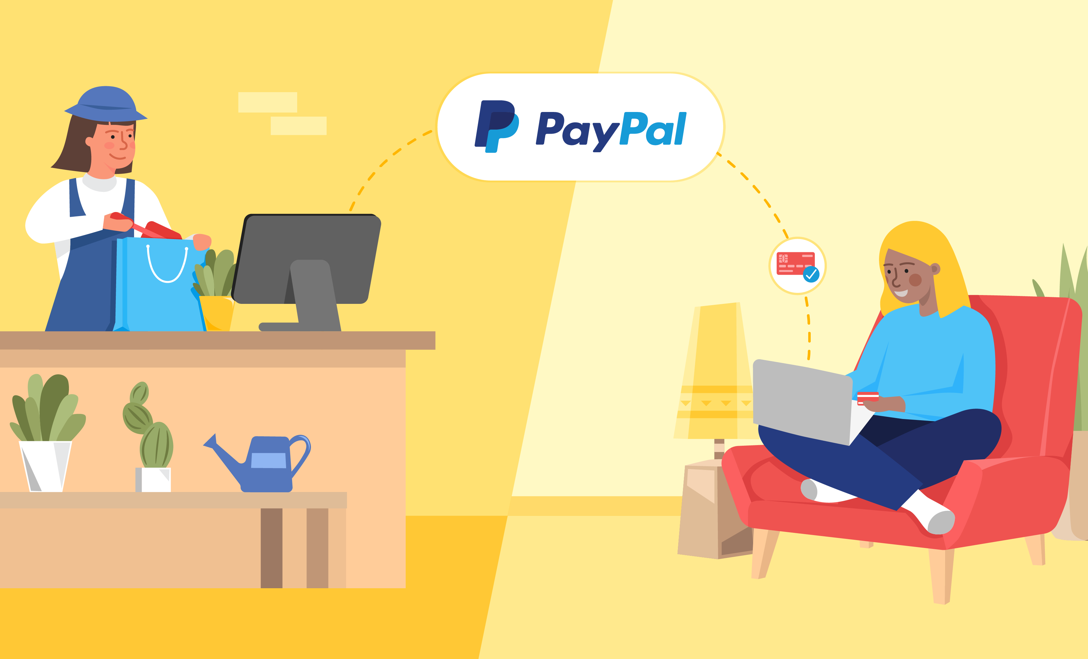 online shopping with paypal business account