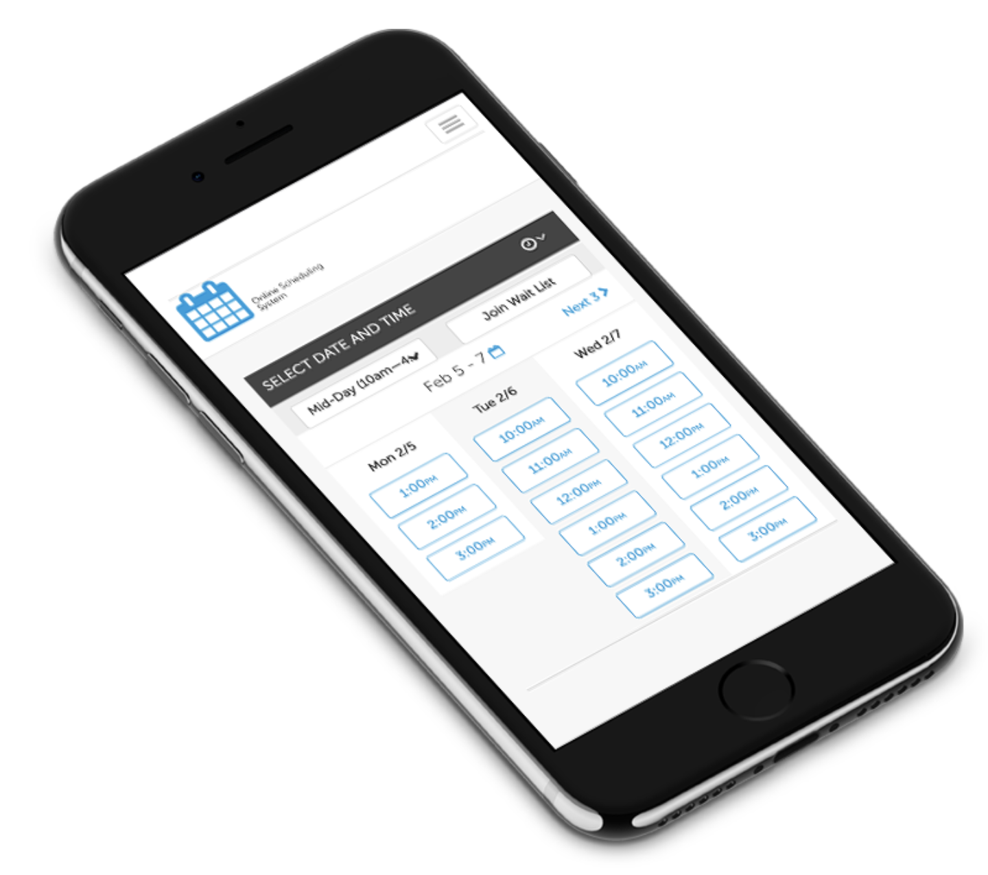scheduling on AppointmentPlus