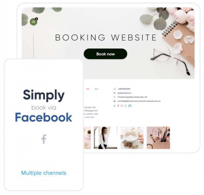 booking on Simplybook.me