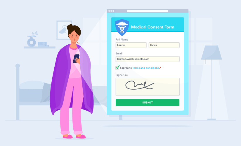 How to get patient consent online