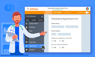 7 ways to use JotForm for telemedicine