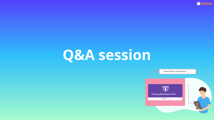 assign forms q&a session