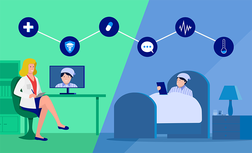 What is telemedicine and how do you apply it?