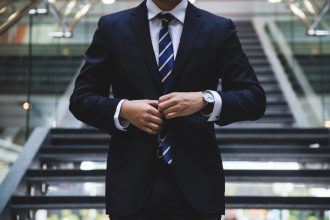 a business person in suit