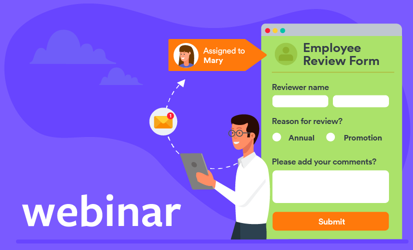 Webinar: Everything you need to know about JotForm's Assign Forms feature