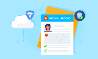 How long should healthcare providers keep medical records?