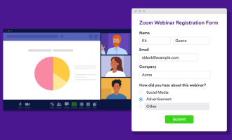 How to host a webinar on Zoom