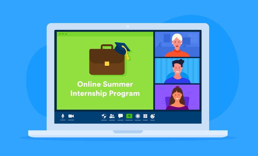 How to start an online internship program