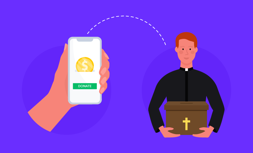 Online church donations: A quick and easy solution