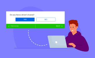 Yes-or-no questions in online forms and surveys