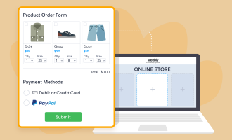 2 easy ways to set up PayPal payments on Weebly