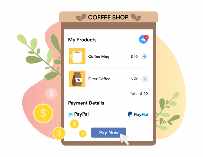 sell product and collect payments