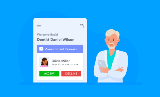 Scheduling dental appointments online
