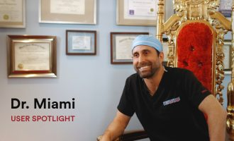 How Dr. Miami uses JotForm to collect patient information