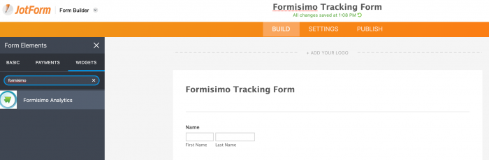 add formisimo to a form