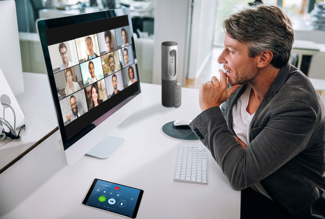 """a """"zoomer"""" in a high quality zoom video call"""