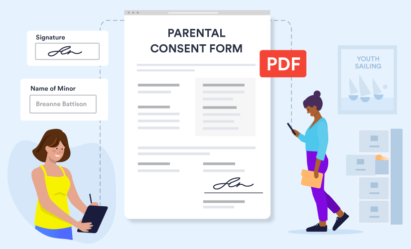 How to leverage PDFs for online consent forms