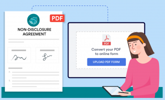 How to use JotForm Smart PDF Forms for NDA collection