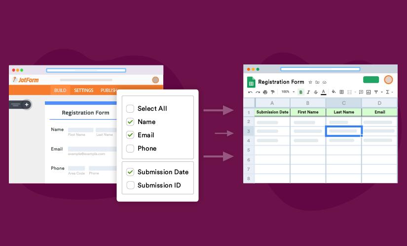 Announcing major updates to JotForm's Google Sheets integration