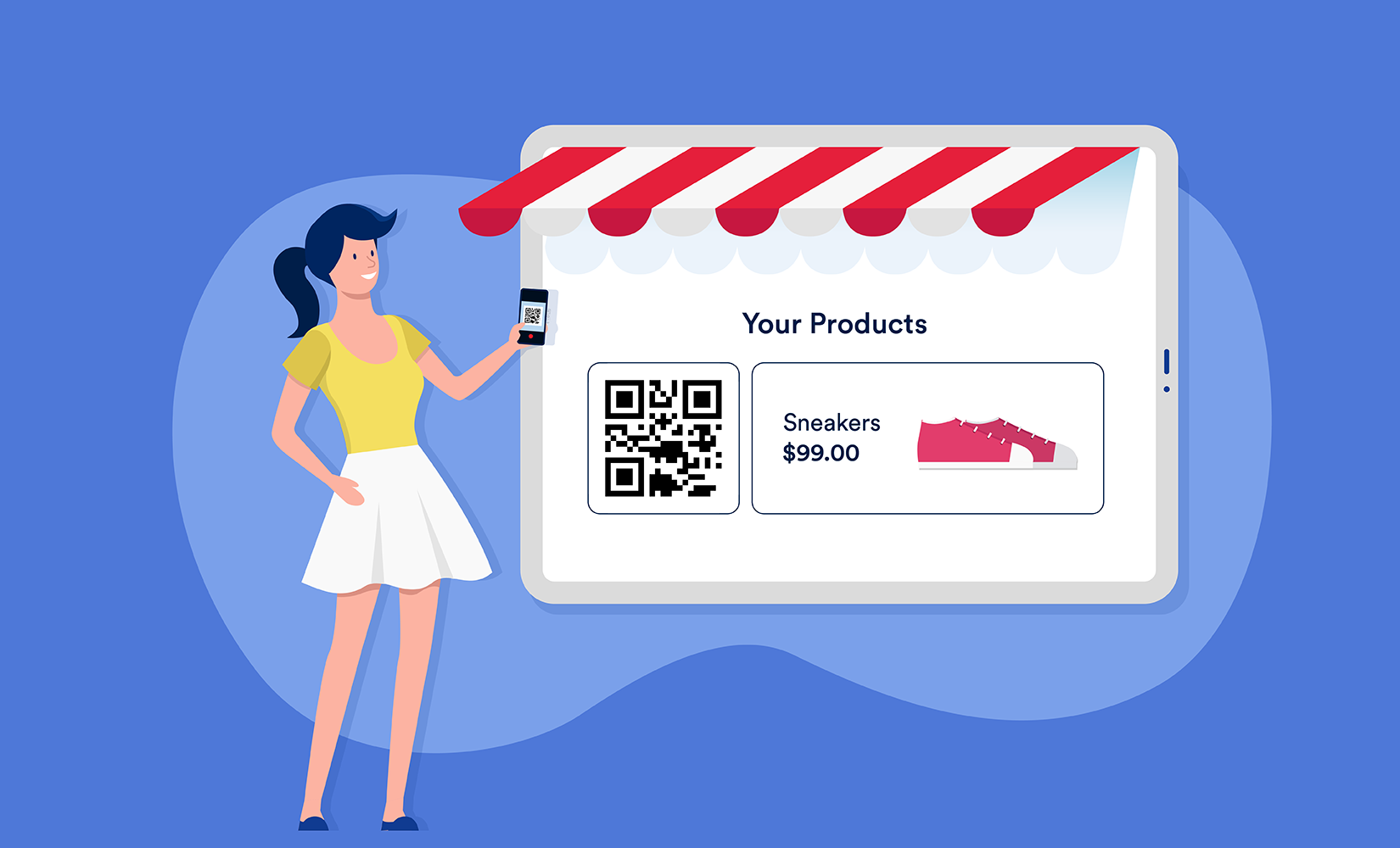 How to collect payments with QR codes