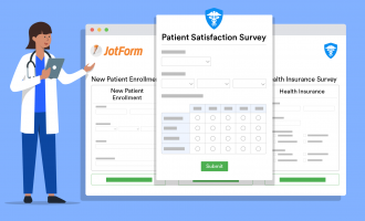 JotForm is a HIPAA-compliant survey tool