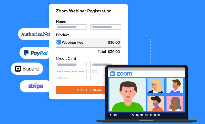 Zoom payment gateways and methods for your next webinar
