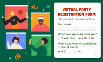 6 ways to use JotForm for virtual holiday gatherings