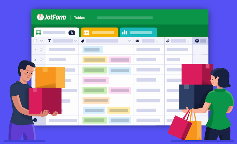 How to use JotForm Tables to facilitate giving