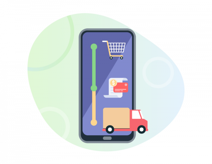 optimizing online order collection, payment collection, and delivery