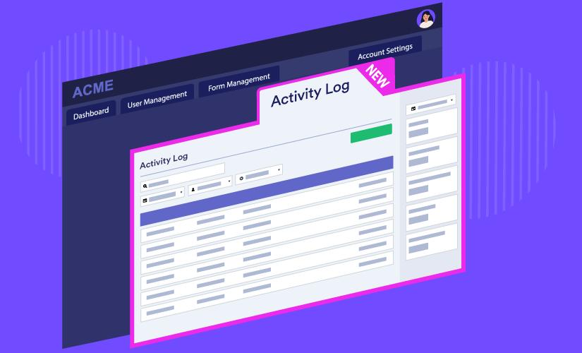 New JotForm Enterprise feature: Monitor your organization's activity
