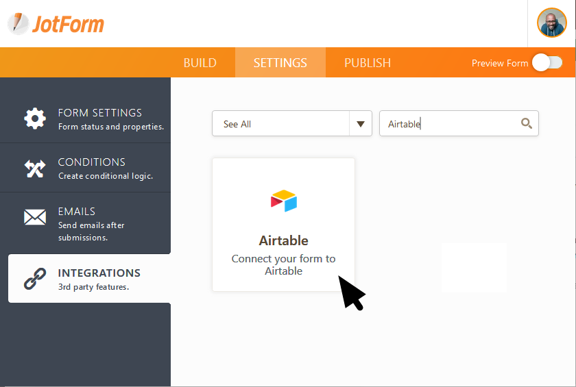 JotForm Airtable Integration