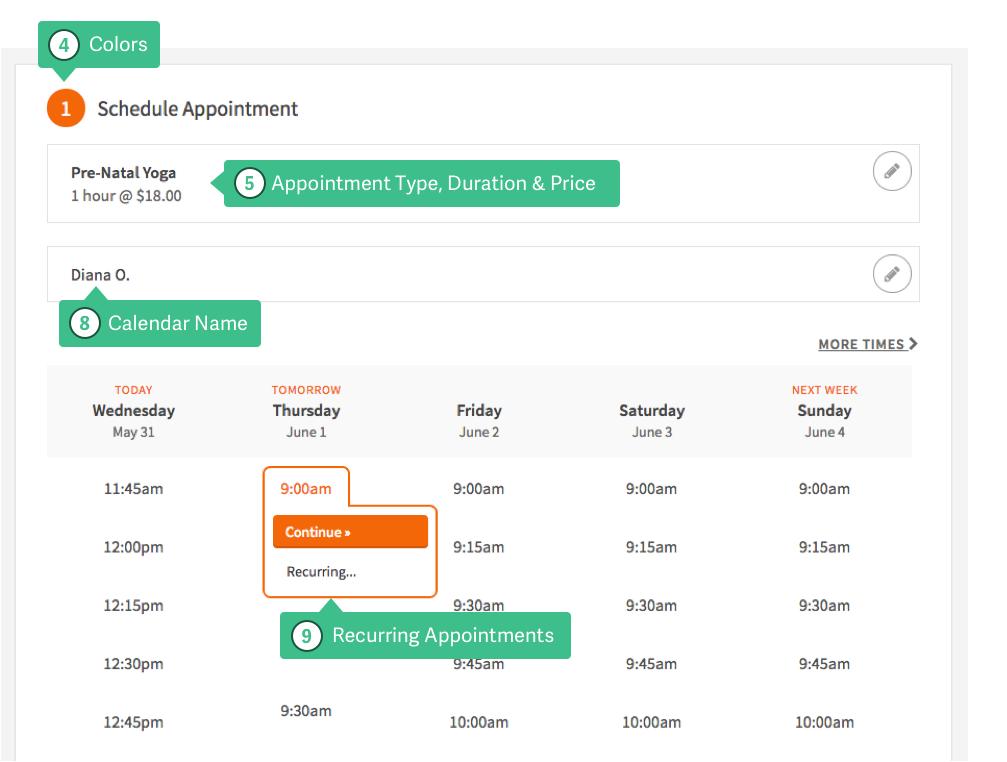 Acuity Schedule Dashboard