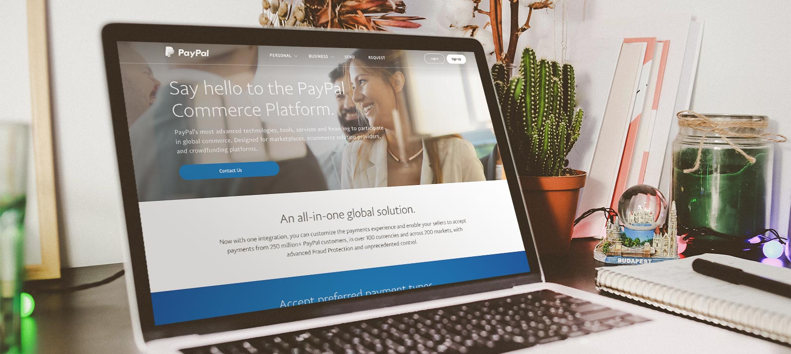 What is PayPal Commerce Platform?